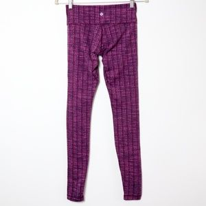 Lululemon | Textured Wunder Under Full Length Pant
